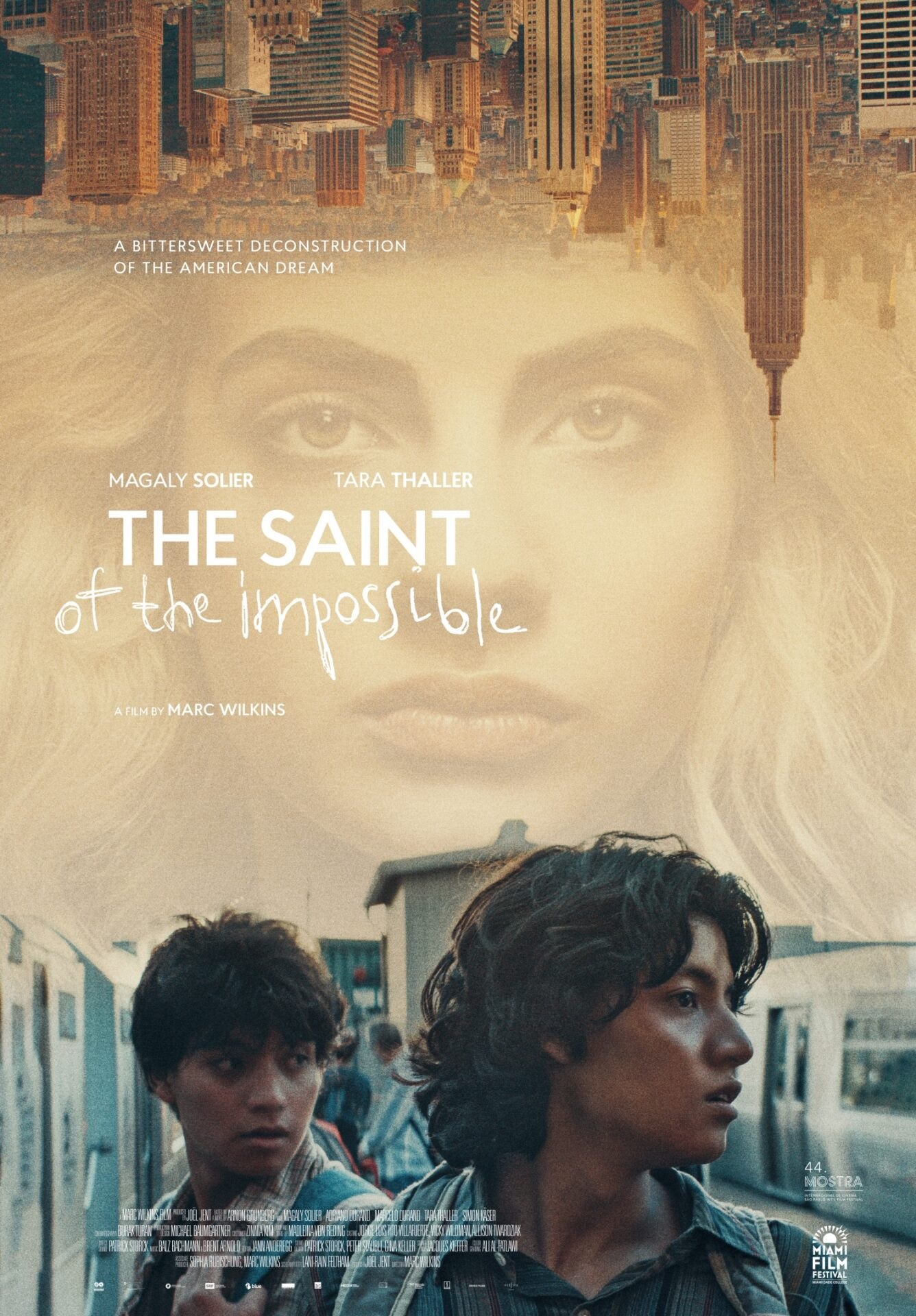THE SAINT OF THE IMPOSSIBLE + by Marc Wilkins